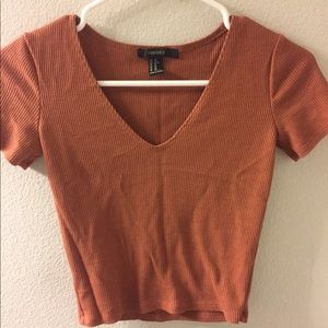 Orange thermal top